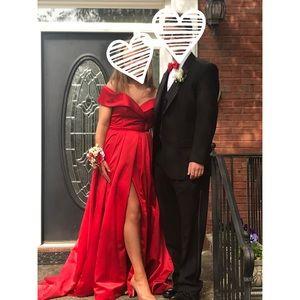 Custom Sherri Hill Prom Dress